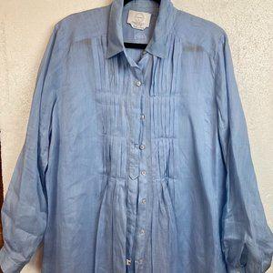 Marina Rinaldi Shirt Blouse Tunica Sz 18 - 20